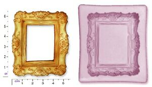 FRAME; RECTANGLE  Craft Sugarcraft Chocolate Soap Mould Mold
