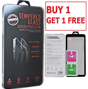 100% Genuine Tempered Glass Screen Protector Clear For Samsung Galaxy Models