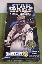 """Star Wars Collector Series 12"""" Tusken Raider avec pistolet et jumelles un nouvel espoir"""