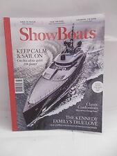 ShowBoats Magazine Luxury Yachts John F. Kennedy Jackie July/August 2015