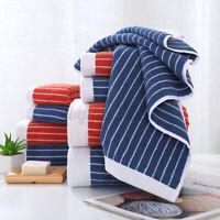 100% Cotton Stripe Towel – Bath Sheet Bath Towel Hand Towel Face Washer Bath Ma