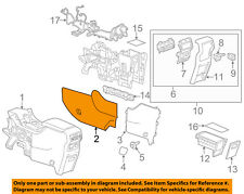 interior consoles & parts for gmc acadia without warranty for sale acadia hvac wiring diagrams gmc gm oem 17 18 acadia center console side panel left 84134789 (fits gmc acadia)