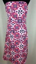 Juniors Ambiance Apparel Floral Strapless Sundress, Size Small