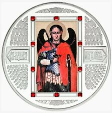 2012 Fiji Archangel Michael - Orthodox Icons 2oz .999 Proof-like Silver Coin