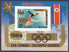 "KOREA Pn. 1983 MNH** SC#2275 s/s Ovpt. ""XXIII Summer Olympic Games 1984"" Imp."