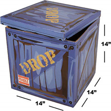 Large Loot Drop Box - Gamer Birthday Party Supplies - Goes with Merch, Chug - x