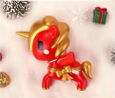 Tokidoki POP MART Unicorno Christmas Mini Figure Designer Toy Figurine Ribbon