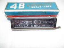 Hugo Rauner Harmonica Harmonica 48 Chromatic Twelve - Hole