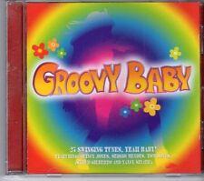 (FD766) Groovy Baby, 25 tracks various artists - 2002 CD