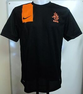 HOLLAND FOOTBALL 2012-14 S/S AWAY SHIRT BY NIKE SIZE SMALL BOYS BRAND NEW