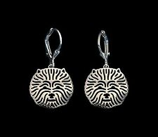 West Highland Terrier Dog Earrings-Fashion Jewellery Silver Plated, Leverback