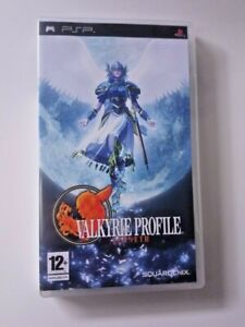 Valkyrie Profile: Lenneth - Sony PSP - RPG - Complete w/ Box and Manual - PAL