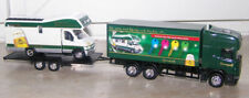 Sternquell,SCANIA truck w. trailer and Fiat Camper,Diecast/Plastic,Loose,S.1:87