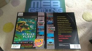 STRIKE FLEET PLATINUM EDITION - COMMODORE AMIGA BIG BOX 1991 - TESTED WORKING