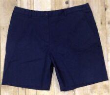 Briggs New York Navy Blue Chino Classic Shorts Women's Sz 16