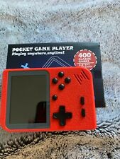 Pocket Game Player 400 Classic Games Red