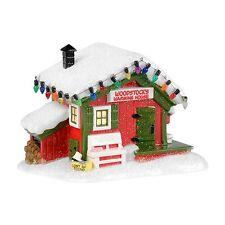 Dept 56 Peanuts Village WOODSTOCK'S WARMING HOUSE #4032208 Free Ship BNIB
