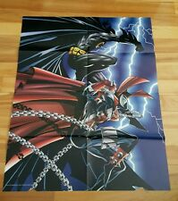 Batman & spawn poster 1994