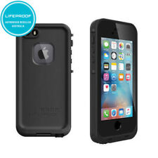 Black Lifeproof Fre Case Waterproof Shockproof Cover for iPhone 5/5S/SE(1st Gen)