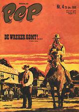 PEP 1969 nr. 04 - OVE KINDVALL/JAN WESSELING/COMICS