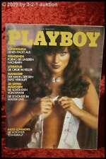PLAYBOY (D) aprile 1982 4/82 per il compleanno patti Connors