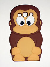 Brown Monkey Silicone Back Case for Samsung Galaxy S3 i9300 - FREE POSTAGE