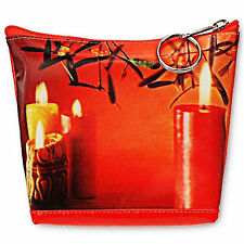 3D Lenticular Universal Purse Bag Christmas Holiday Candle #PK-012-PAVIA#