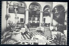 Postcard HAVANA CUBA  Paris Restaurant Interior Promo Ad 1930's