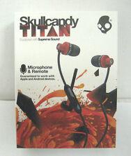 Skullcandy Titan Supreme Sound In Ear Headphones With Mic1+ Remote & Travel Bag