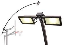 Led Basketball Hoop Light Illuminates Backboard Rim And Court Fits All Goalrilla