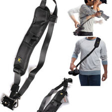 Quick Rapid Shoulder Sling Belt Neck Strap for Camera SLR/DSLR Nikon Canon Sony