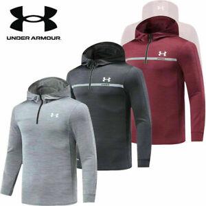 2021 Under Armaur UA Mens Hoodie Pullover Sweatshirt Jumper Hoody Jacket Hooded