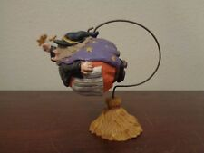Midwest Of Cannon Falls Witch Moon Stars W/Stand Holder Halloween 2 Pc Figurine