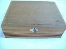 Vintage House of Windsor Palmas Wood Cigar Box in Very Good Condition