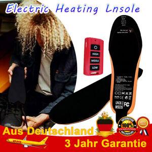 Beheizbare Einlegesohlen USB Beheizte Schuheinlagen Heizsohlen mit Fernbedienung