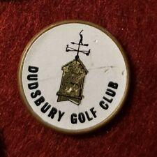 Dudsbury Golf Club Ball Marker