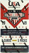 2019 Panini USA Stars & Stripes Baseball Hobby Box
