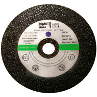 """25 or 100 Metal Cutting Slitting Discs. 75 mm, 3"""", 3in. Mild & Stainless Steel."""