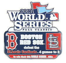 2013 World Series Commemorative Pin - Red Sox vs. Cardinals - Limited 1,000