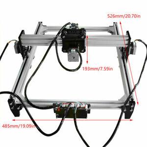 500MW CNC Laser Engraving Machine Desktop DIY Wood Logo Engraver 526*485*193mm