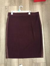 jenifer lopez Women Knit Skirt Burgundy Xxl