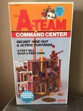 VINTAGE 1983 GALOOB THE A-TEAM COMMAND CENTER SECRET HIDE-OUT&ACTION FORTRESS!!!