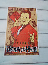 Reverend Horton Heat Original Concert Poster 11x17 San Diego Nashville Pussy