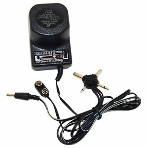 9w, 500mA Universal AC/DC Power Adapter 1.5, 3, 4.5, 6, 7.5, 9 and 12V DC