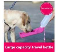 Portable Pet Dog Water Bottles Foldable Tank Drinking Feeding Dispenser 250ML