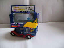 Matchbox Model MB38 IOM  1990  Blue   Van Yellow  Roof  OO ?  Scale