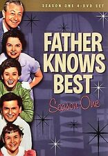 NEW 4DVD SET - FATHER KNOWS BEST - SEASON 1 COMPLETE - JANE WYATT, ROBERT YOUNG