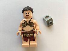 STAR WARS LEGO MINIFIGURE JABBA SLAVE OUTFIT PRINCESS LEIA LIGHT FLESH SET 75020