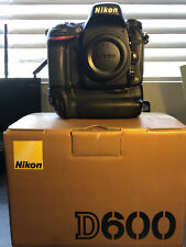 Nikon D D600 24.3MP Digital SLR Camera - Black Body and NIKON MB-14 Grip!