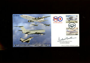 1998 RAF cover signed by Marshal of the RAF Sir Michael Beetham GCB CBE DFC AFC
